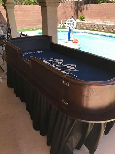 Craps in your backyard!