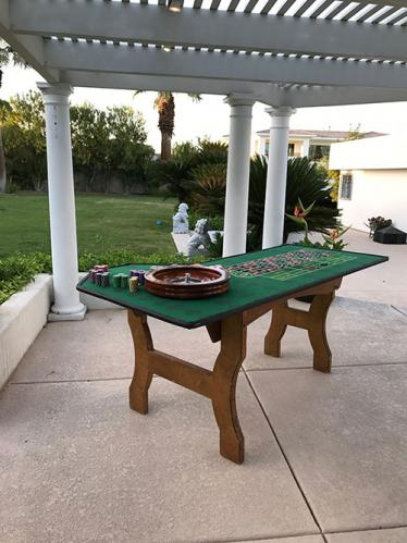Roulette in your backyard!