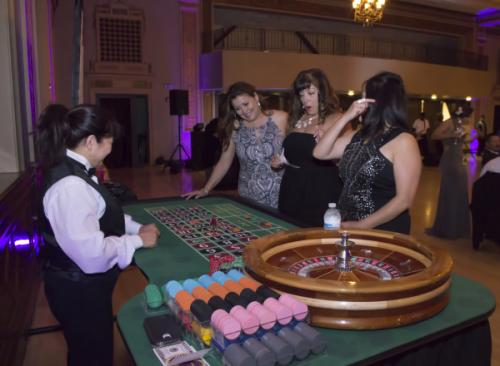 Fun at the Roulette table!